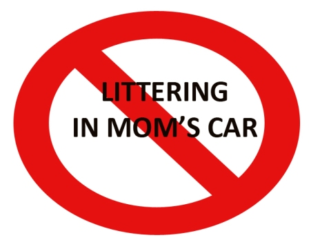 no-trash-in-moms-car
