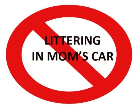 no-trash-in-moms-car