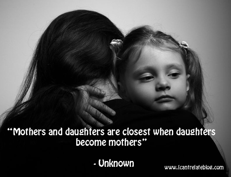Daughters become mothers