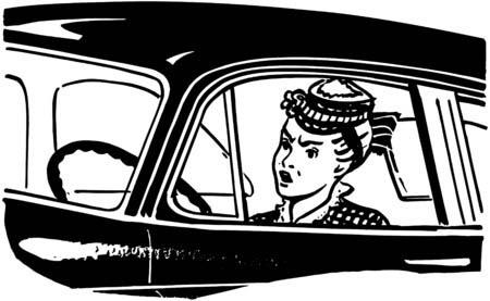 28345720 - woman driver