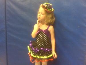 M dance costume