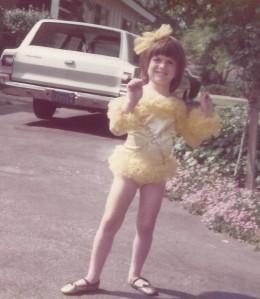 Shana young dancer